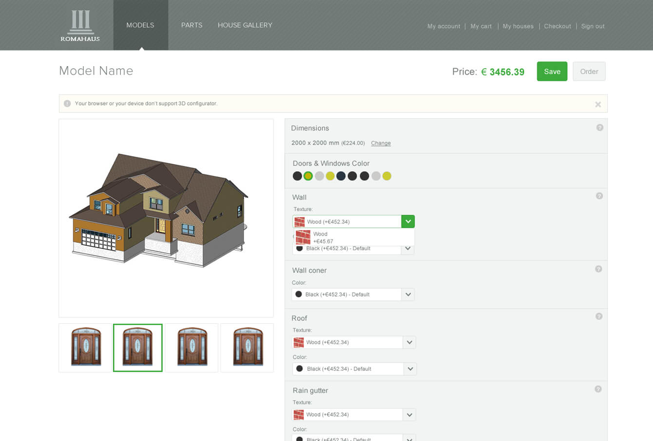 3d house configurator ikantam for House configurator